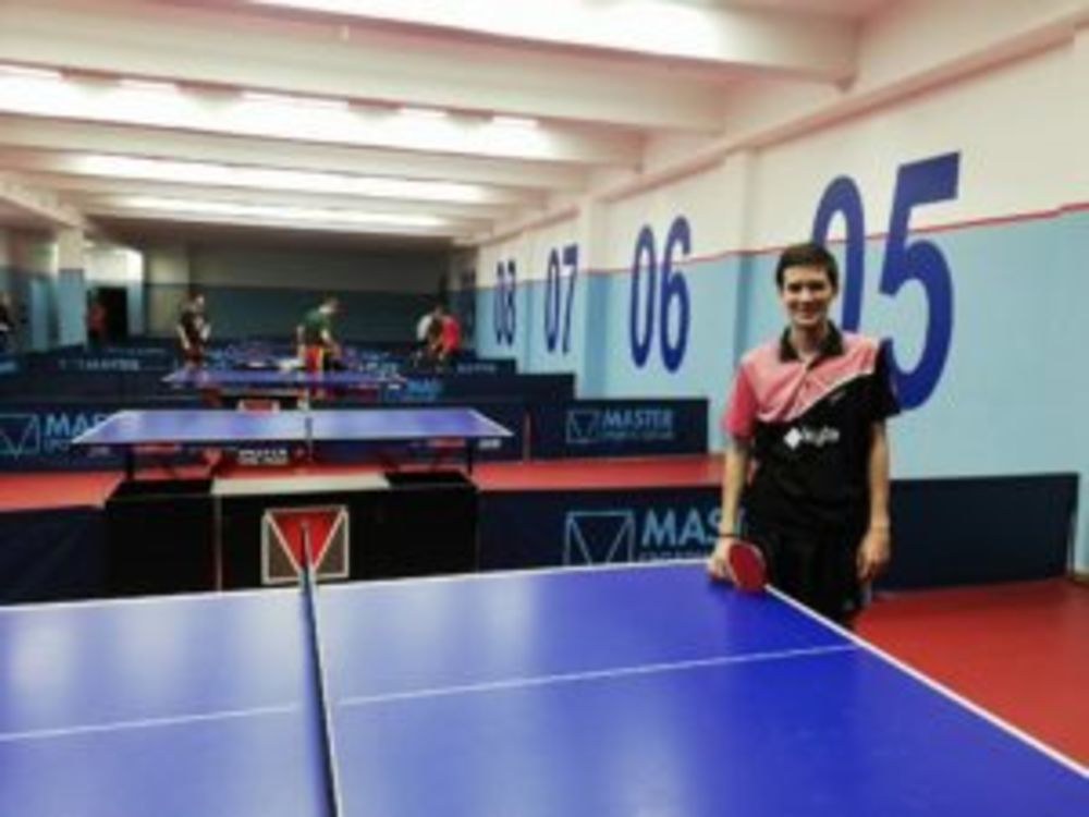Dario Ardeljan at HiTT Malta Table Tennis Academy Easter Camp 2019
