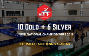 Best table tennis club in Malta wins 15 medals in National Championships