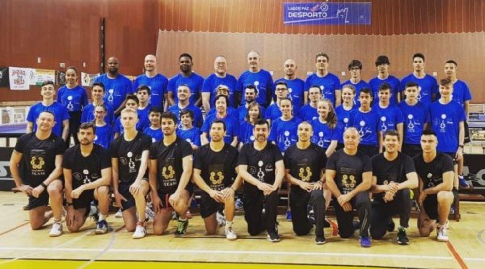 United Table Tennis Coaching Team (UTTCT) high-performance training camp