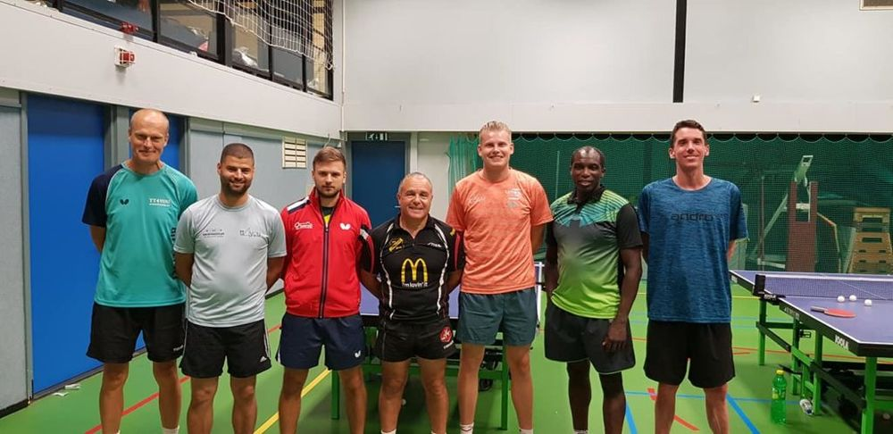 Coaching team - TT4YOU International Summer Camp 2019 in Schiedam