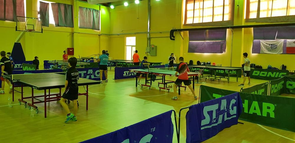 The 2019 Iaonnina Table Tennis training camp in Greece