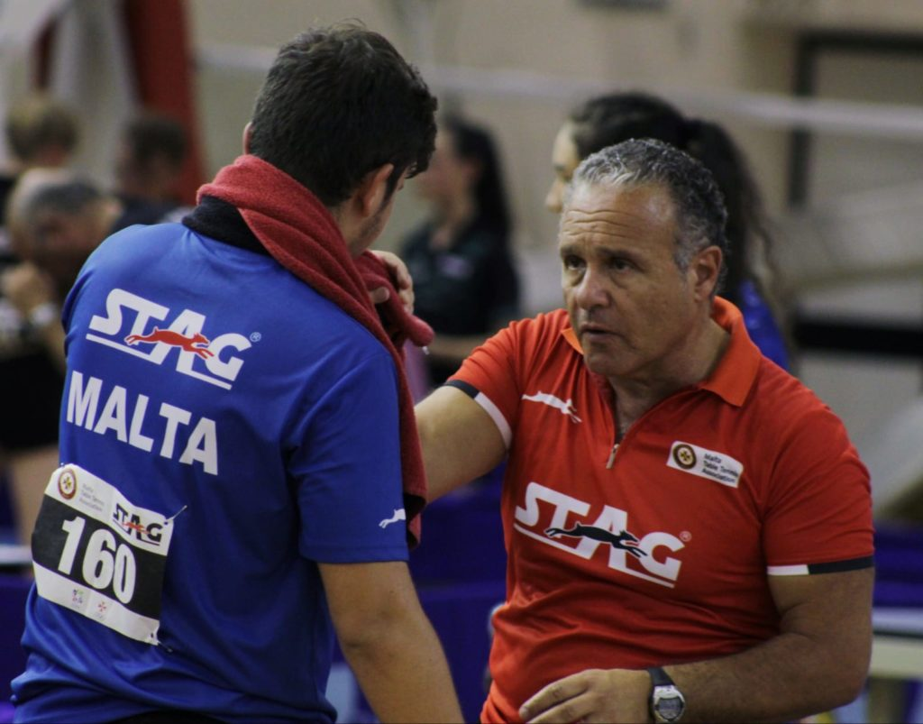 """HiTT Malta Head Coach was recently asked to lead the """"Aim for the Stars"""" table tennis training camp in preparation for the South Asian Games in Nepal."""