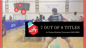 HiTT Academy wins 7 out of 8 Table Tennis events