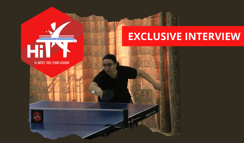 We interviewed HiTT Academy player Maryanne Pace about her experience since she started playing table tennis in 2018 at the age of 42.