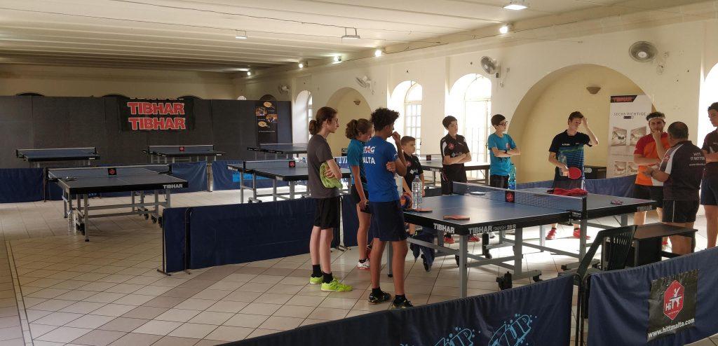 Table Tennis Training Centre in Pembroke
